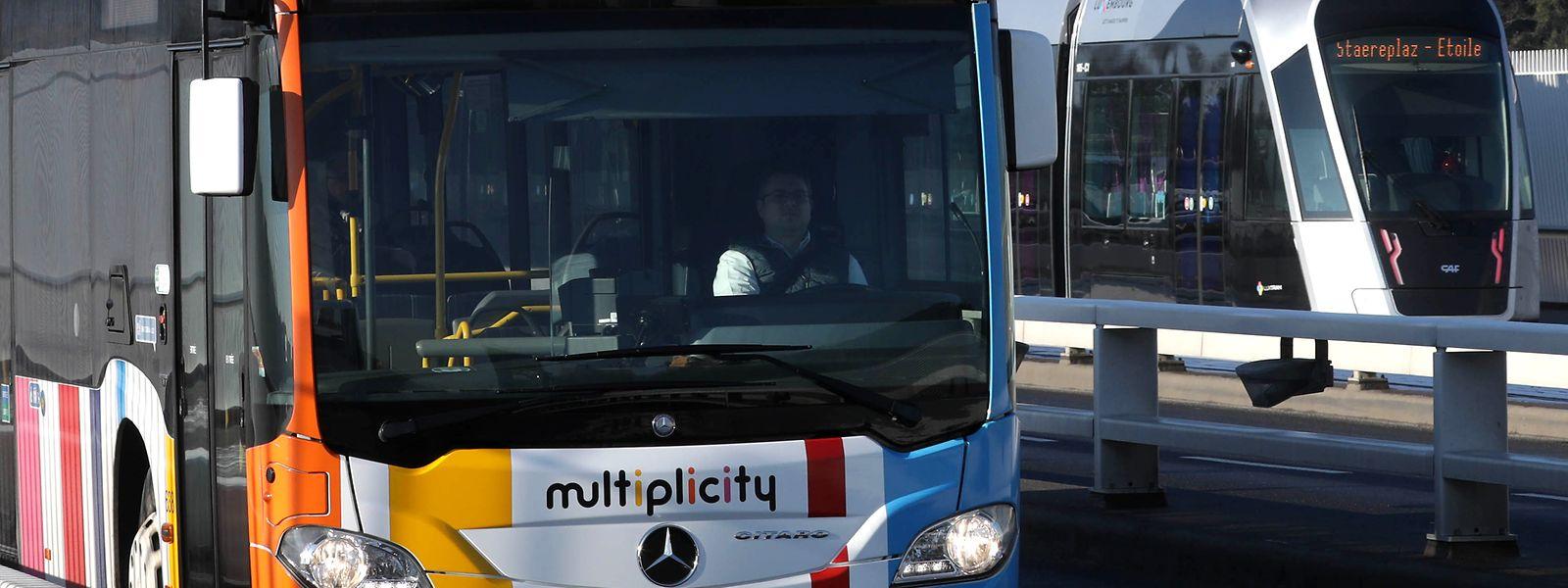 La Ville a augmenté la rotation des bus en partance et vers la vallée de l'Alzette.