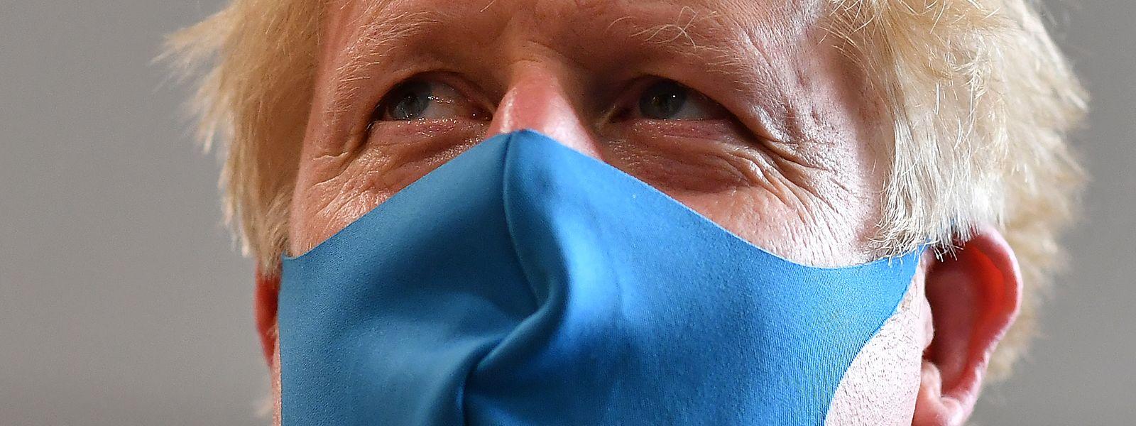Boris Johnson, Premierminister von Großbritannien.