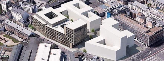 Voilà comment s'organiseront les nouveaux bâtiments autour de la Cité de la Sécurité sociale.