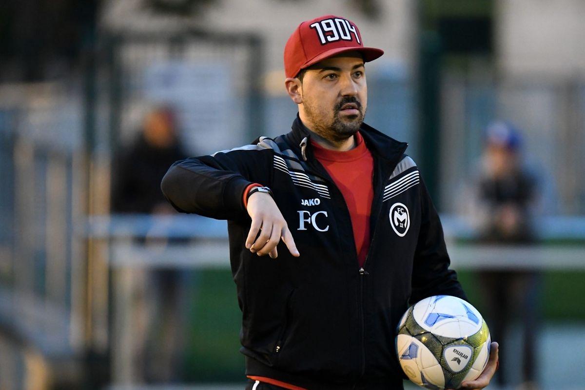 Filipe da Cunha l'entraîneur de Mamer, loue la seconde période de son équipe.