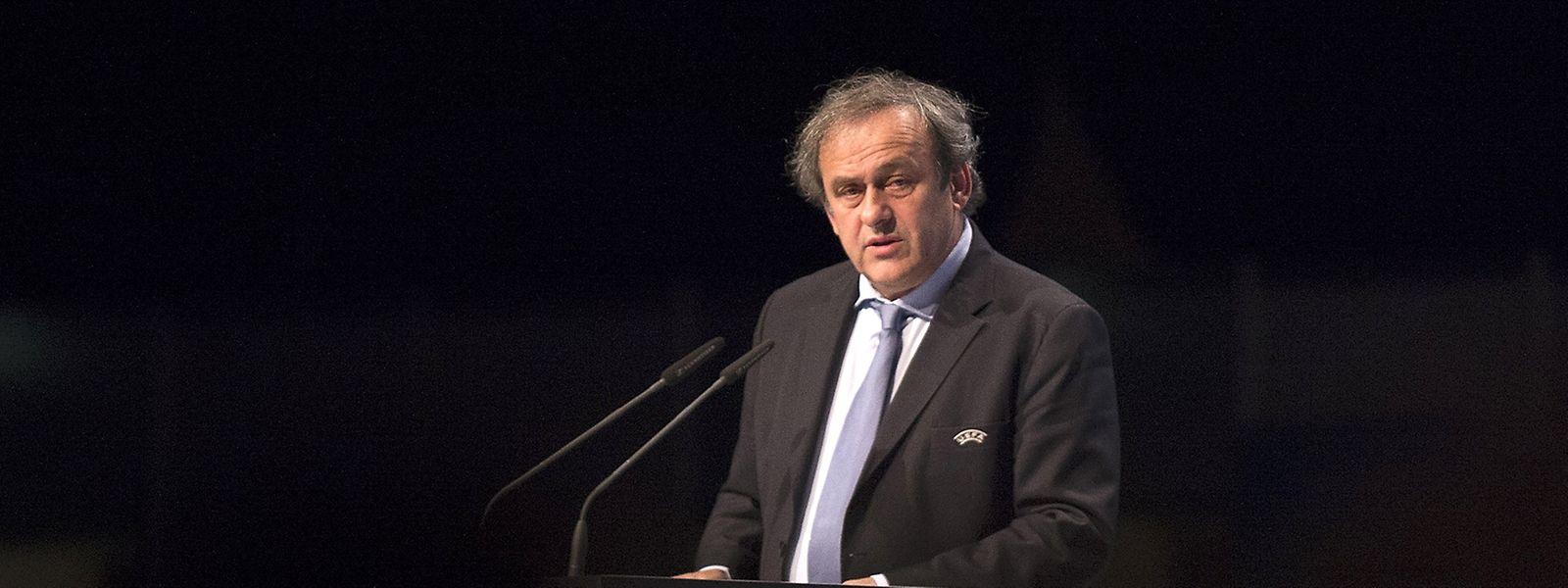 """Michel Platini glaubt, er selbst sei """"der Beste, um den Weltfußball zu führen."""""""