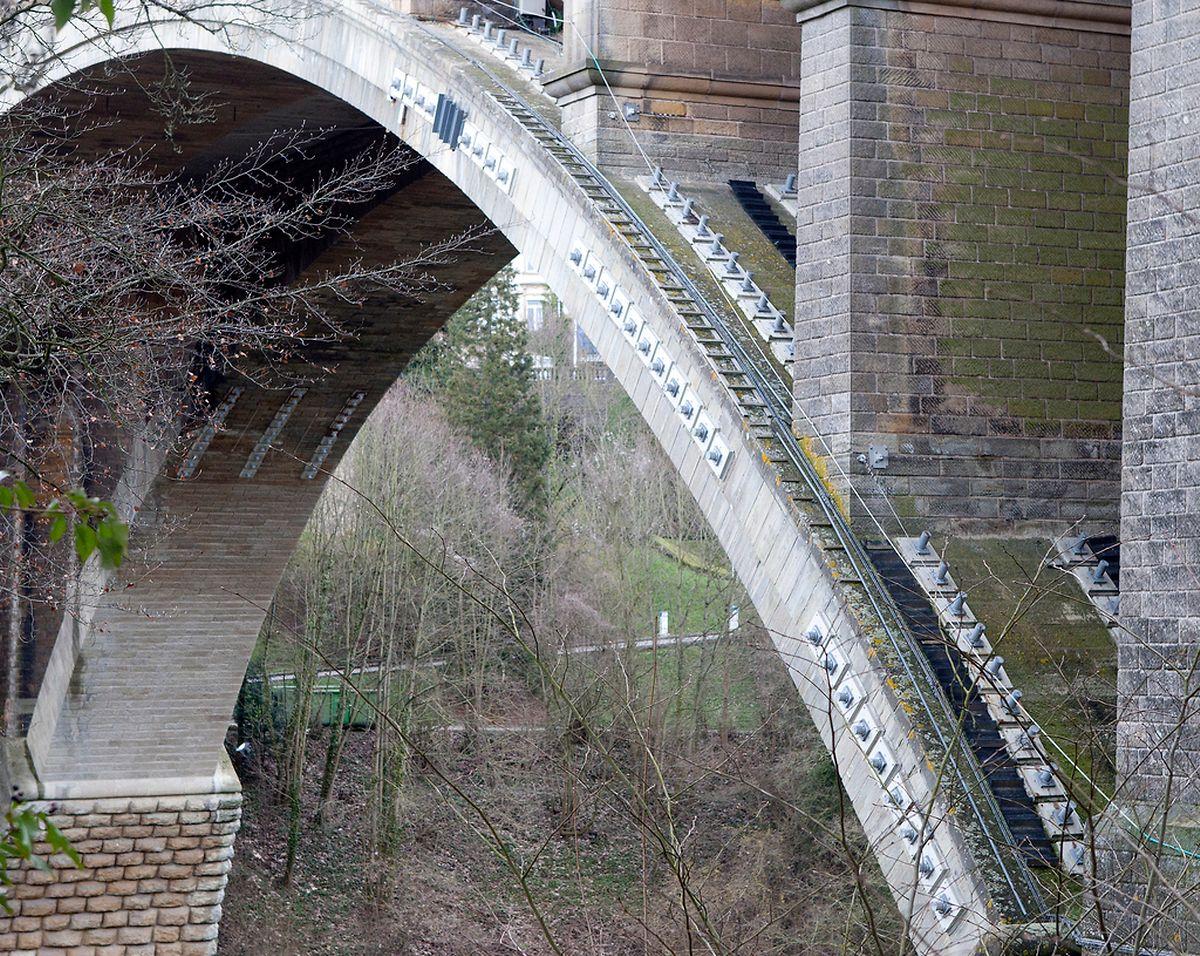 12.04.13 Chantier Pont Adolphe,Nei Breck,.Foto:Gerry Huberty