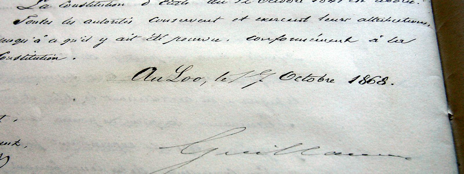 Die Verfassung aus dem Jahr 1868 wird etappenweise überarbeitet und modernisiert. Im vorerst letzten Entwurf geht es um die Grundrechte und die Freiheiten.
