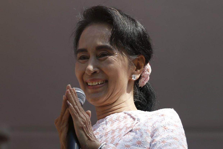 Aung San Suu Kyi bittet ihre Anhänger um Zurückhaltung.