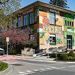 Vor Kurzem schmückte der Künstler Alain Welter die Fassade der Epicerie mit einem Graffiti-Kunstwerk.