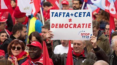 Die Freihandelsabkommen TTIP und CETA haben auch in Luxemburg für Unmut gesorgt.