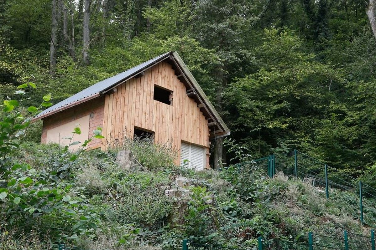 Das Gartenhaus des Differdinger Ex-Bürgermeisters.