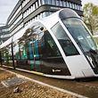 Tram Testfahrten, Kirchberg, Foto Lex Kleren