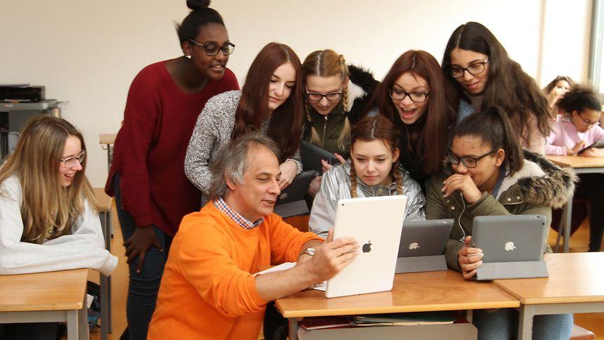 Die Privatschule St. Anne in Ettelbrück war eine der ersten im Lande, die iPad-Klassen einführte.