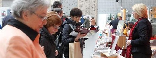 """Der Second-Hand-Büchermarkt hat seinen festen Platz bei den """"Walfer Bicherdeeg"""""""
