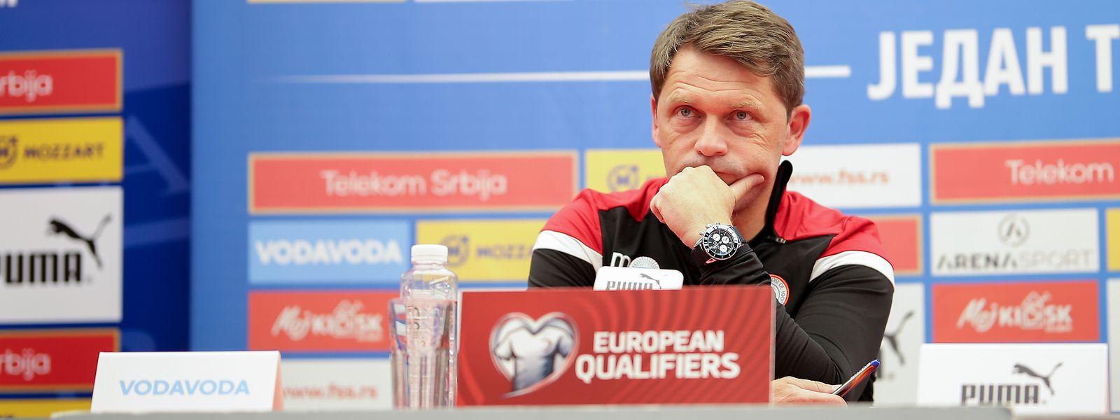Nationaltrainer Luc Holtz hat bei seinen Startaufstellungen die Qual der Wahl.