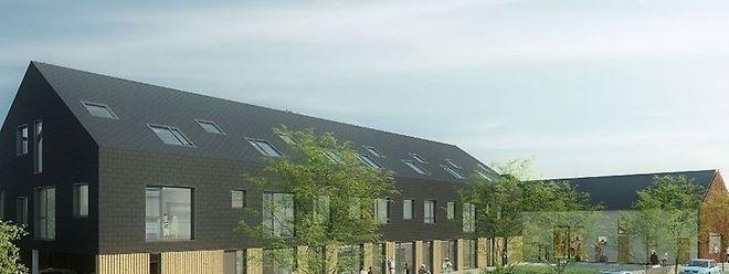 O projeto foi feito pelo gabinete de arquitetura Steinmetzdemeyer