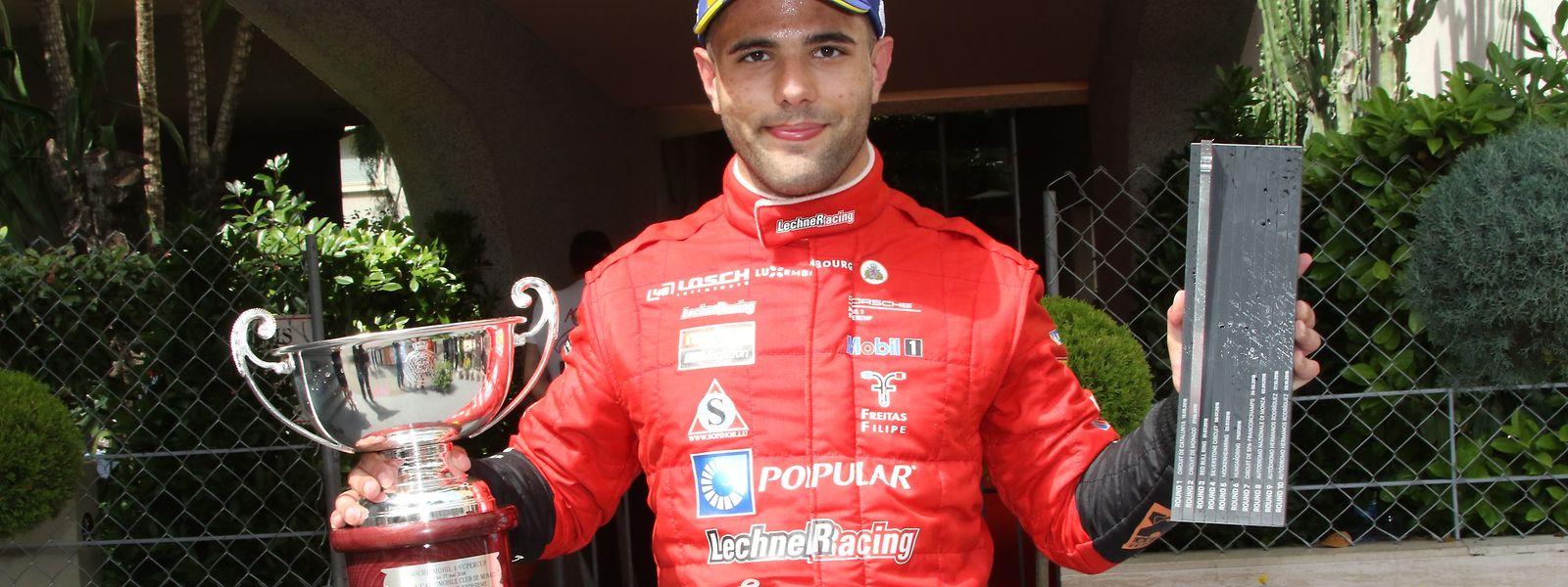 Dylan Pereira já alcançou dois pódios em outras tantas corridas da Porsche Mobil 1 Supercup.