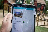 L'application permet à ses utilisateurs d'avoir une vue d'ensemble des aires de jeux au Grand-Duché.
