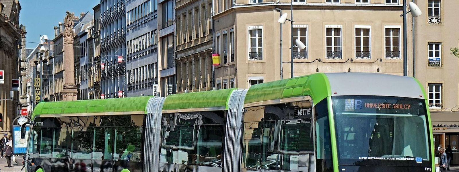 Ähnlich diesem Mettis in Metz könnte in Zukunft ein Hochleistungsbus Esch mit der Hauptstadt verbinden.