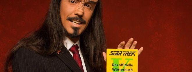 Lieben L. Litaer ist ein Experte der klingonischen Sprache.