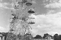 Bis Anfang der 1970er-Jahre thronte das Riesenrad in der Mitte des Hauptfeldes der Fouer.
