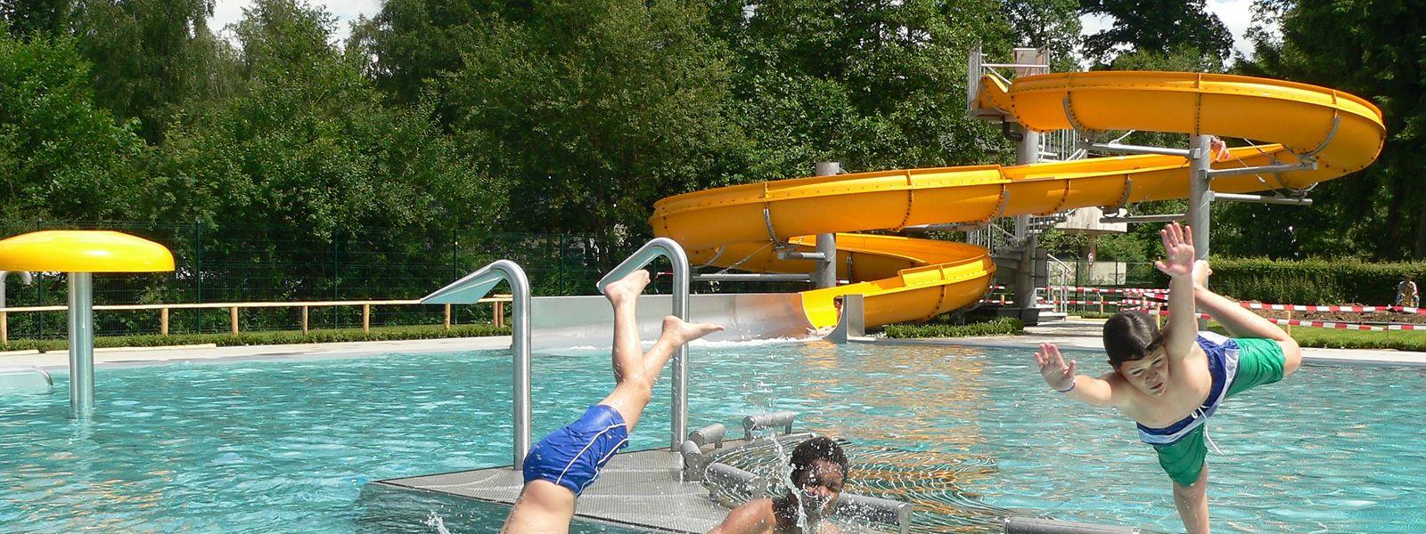Wie im Urlaub: Wenn das Wetter mitspielt, machen die Leute gerne einen Abstecher ins Freibad.