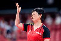 Ni Xia Lian / Tischtennis Damen - Olympia / 25.07.2021 / Olympische Spiele 2020 / Tokio 2020 / Foto: Yann Hellers