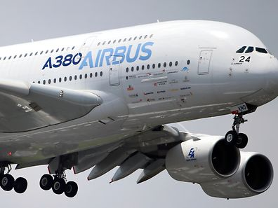 FILE - In this June 20, 2013 file photo, an Airbus A380 performs its demonstration flight during the 50th Paris Air Show at Le Bourget airport, north of Paris. European aerospace group EADS is to change its name to Airbus and shake up its corporate structure as part of push to give its civil aviation division more prominence. As well as the name change next year, European Aeronautic Defense and Space Co. will reshuffle its space and military units into one division, the company said Wednesday. (AP Photo/Francois Mori, File)