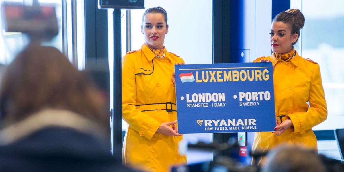 Im Winter fängt Ryanair mit zwei Destinationen erst einmal klein an, will das Angebot aber später ausbauen.