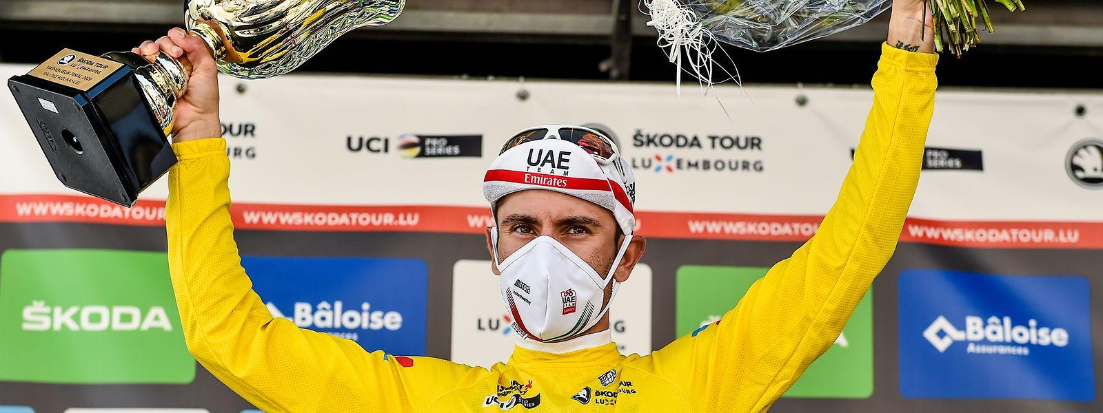 Diego Ulissi sichert sich den Gesamtsieg bei der Skoda Tour 2020.