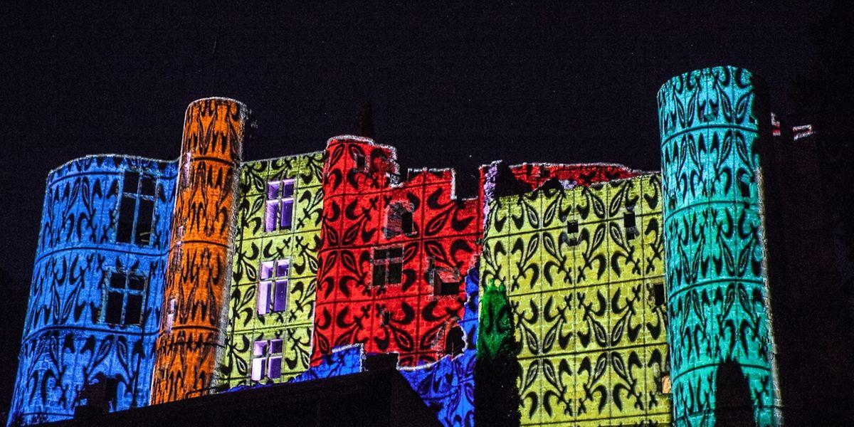 Ein einmaliges Licht- und Musikspektakel vor der Schlosskulisse in Befort.
