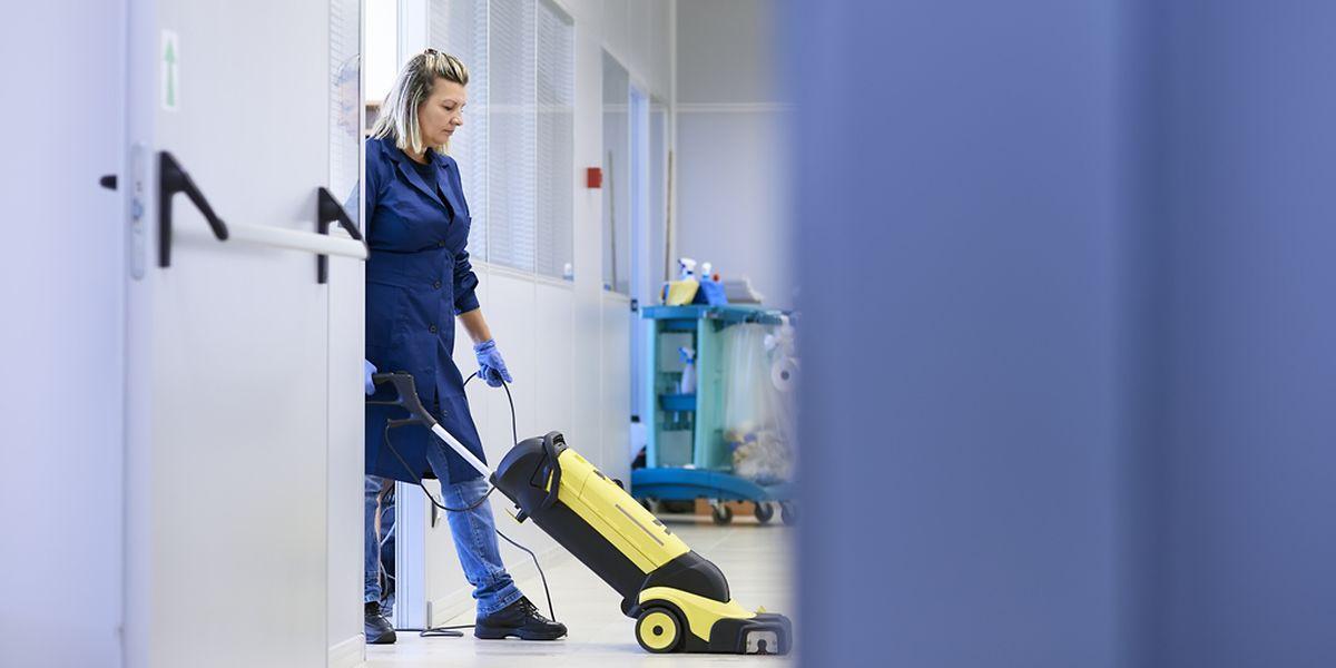 Le secteur du nettoyage emploie près de 9.000 agents au Luxembourg dont de nombreux frontaliers français