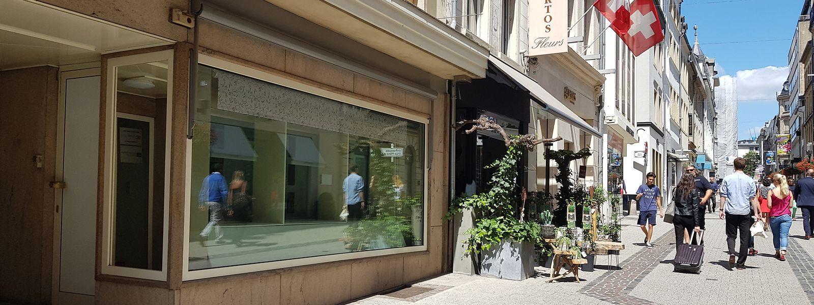 Nachmieter gesucht: Ob Nobelboutiquen, Schmuckläden oder internationale Marken - zahlreiche Geschäfte in der Innenstadt haben ihre Türen geschlossen.