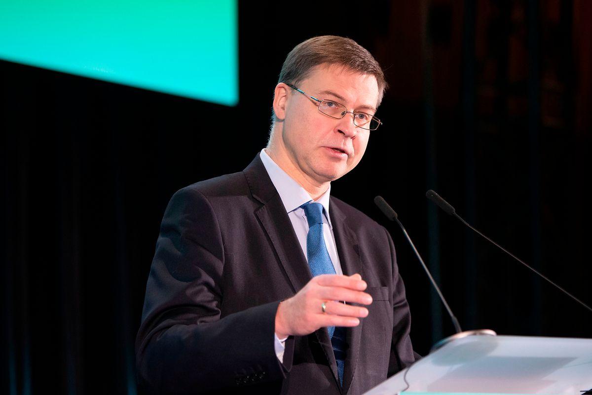 Valdis Dombrovskis, vice-président de la Commission européenne.