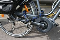 16.8.2017 Luxembourg, Fahrradsperre, Verrieglung Fahrrad, Sicherheit, Klau photo Anouk Antony