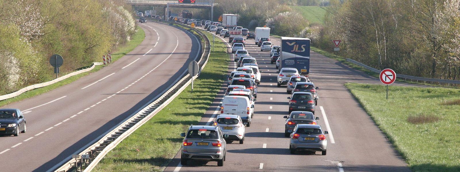 Le trafic sur l'A31 a augmenté de 56% au cours des quinze dernières années entre Thionville et le Luxembourg.