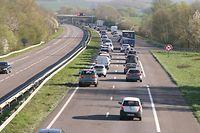 L'A31, axe le plus fréquenté d'Europe avec 500.000 voitures et 6.000 camions par jour.