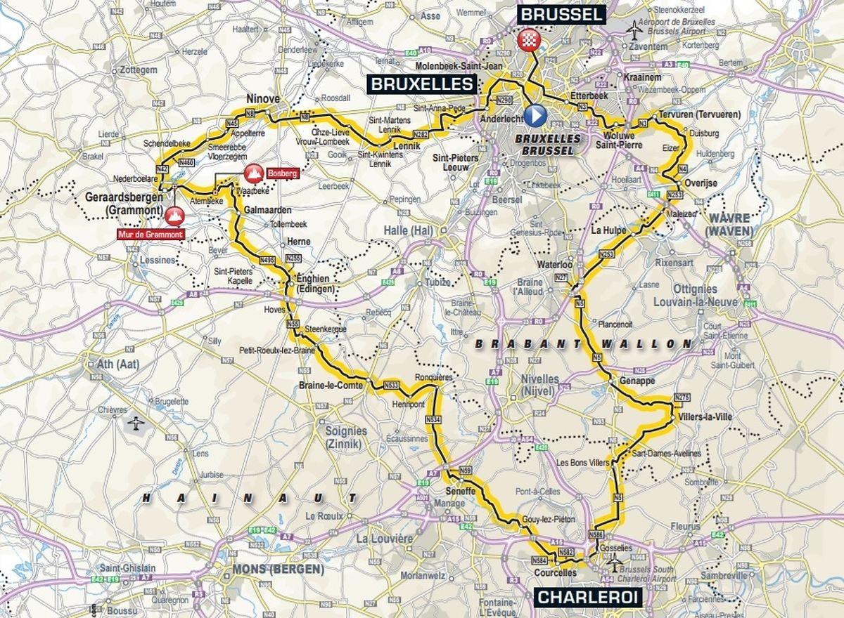 Tour De France 2019 In Brüssel Die Ersten Zwei Etappen Sind Bekannt