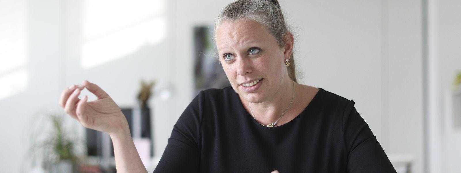 """""""Keinen Klimaschutz können wir uns nicht leisten"""": Für Ministerin Dieschbourg ist das ehrgeizige Engagement der Regierung alternativlos."""