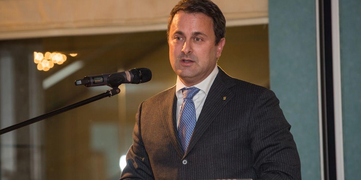 Xavier Bettel sprach, auf Einladung des Executive Club Luxembourg, über die Zukunft Europas
