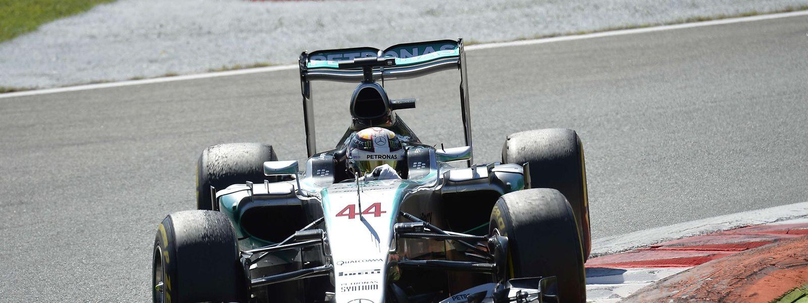 Mais uma vitória para Lewis Hamilton, desta vez no circuito de Monza