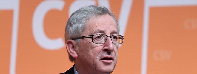 Eine neue Nebenbeschäftigung: Jean-Claude Juncker als Auftragsredner.