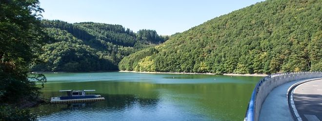 Seit Ende August riet das Nachhaltigkeitsministerium aufgrund einer Blaualgenplage vom Badevergnügen  im Oberstausee ab.
