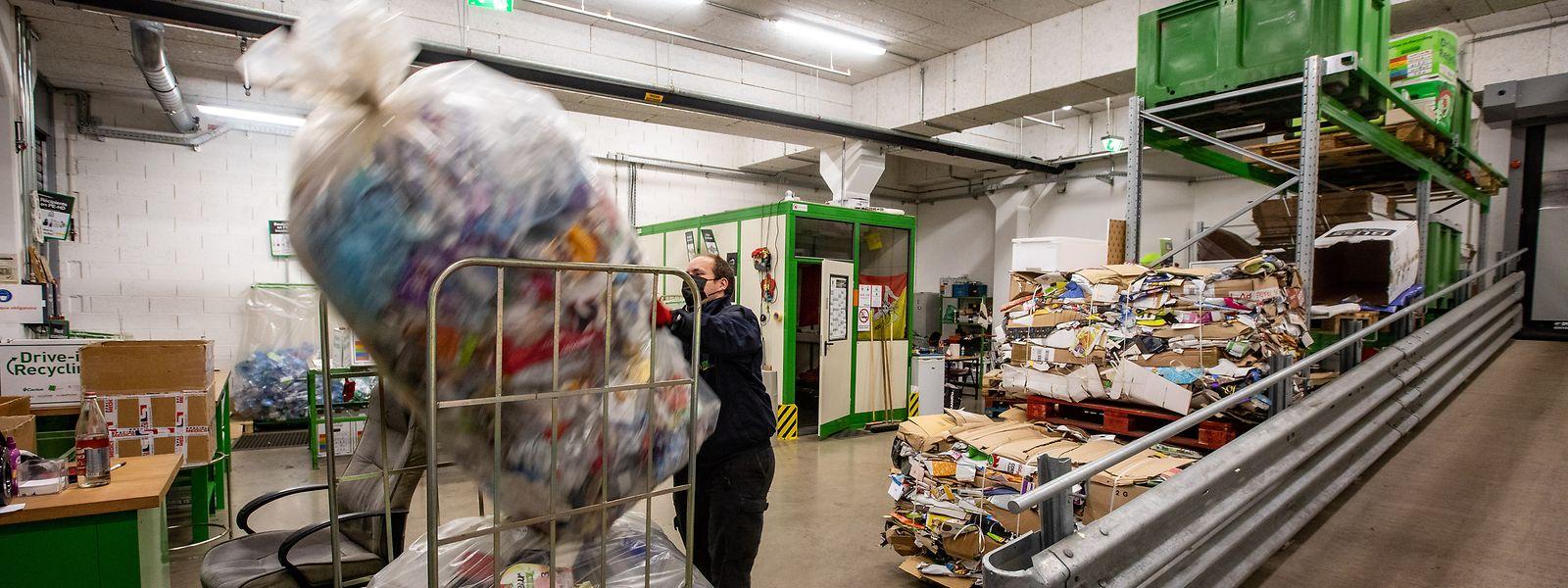 Entre 2018 et 2020, 17 entreprises ont adressé des demandes d'aides pour faire des études environnementales, notamment en termes de réutilisation des déchets.