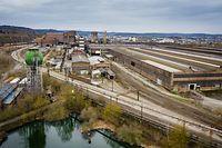 Ehemaliges Stahlwerksgeländes Esch/Schifflange - ARBED - Esch-Schifflange - Foto : Pierre Matgé/Luxemburger Wort