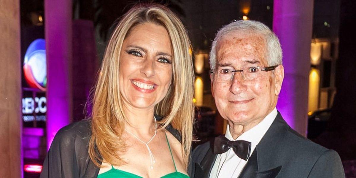 Paula Marcelo e Camilo de Oliveira viveram juntos durante 35 anos. A atriz era 42 anos mais nova do que o humorista.
