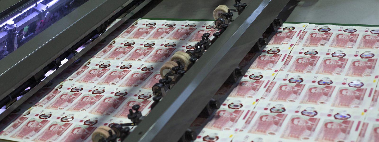 Die britische Notenbank hat am Donnerstag ihre neue 50-Pfund-Note vorgestellt.