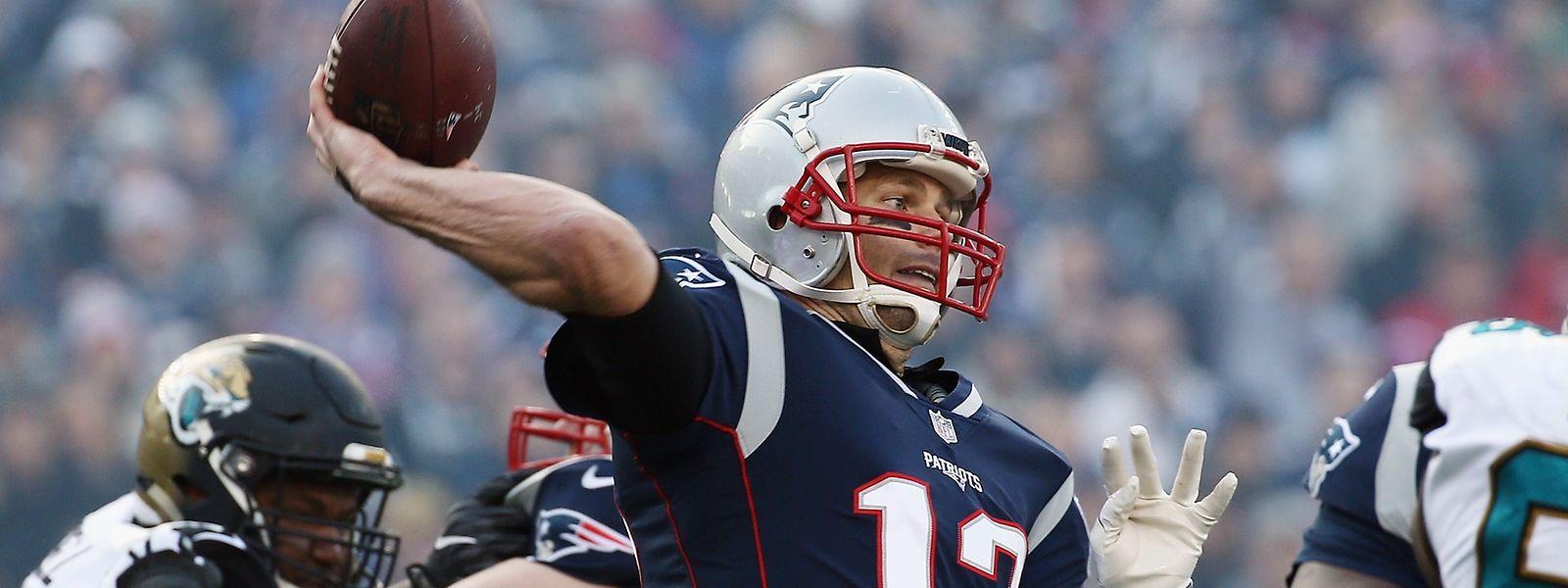 Quarterback Tom Brady entschied die Party in der Schlussphase.