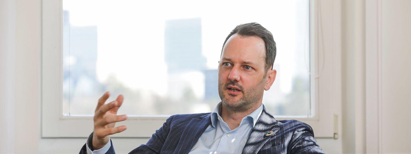Mit 42 Jahren ist Christophe Schiltz der jüngste Präsident in der Geschichte des Staatsrats, einer Institution, die seit 1856 in der luxemburgischen Verfassung verankert ist.
