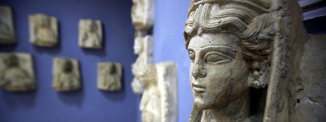 Antike Kunst wie diese 2000 Jahre alte Büste aus der Oasenstadt Palmyra sind begehrte Beute für den Islamischen Staat.