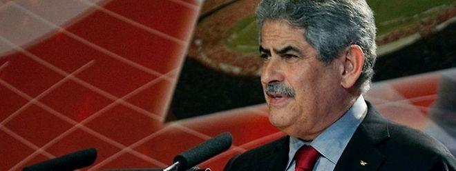 o presidente do Benfica diz-se tranquilo.