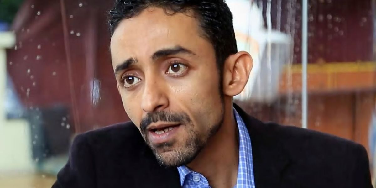 Blogger Hisham al-Omeisy