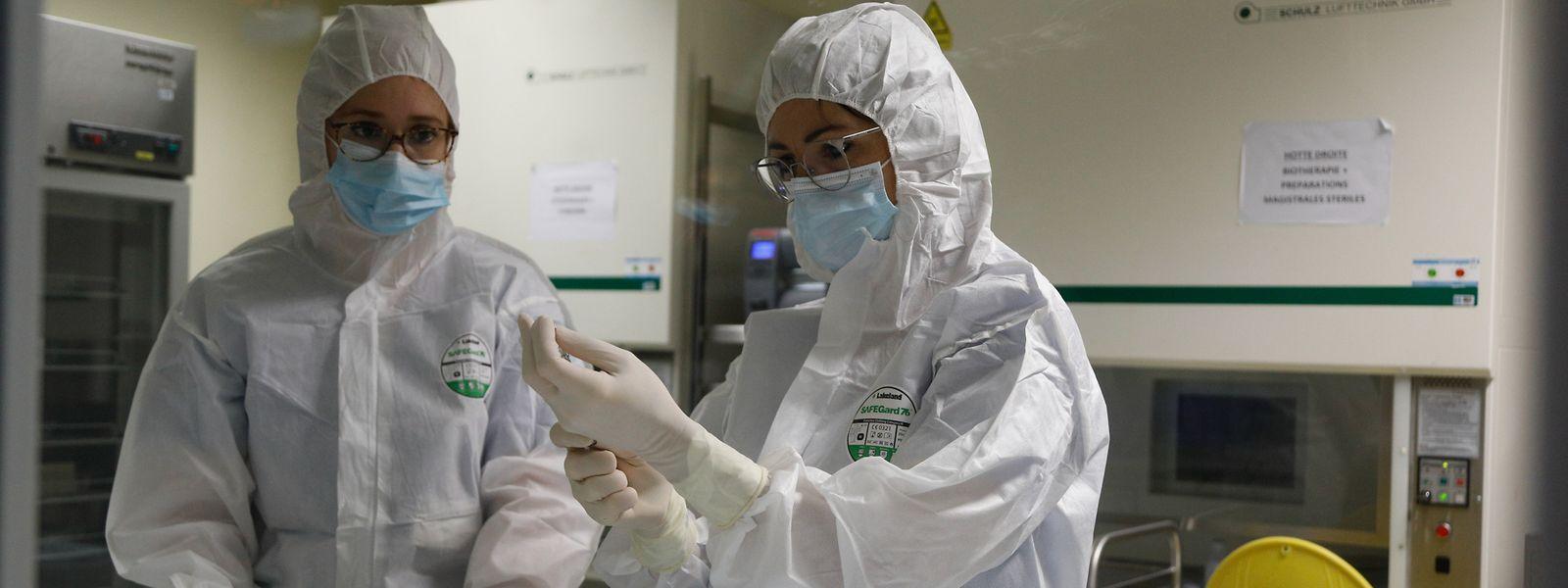 Seit Dienstag werden in Luxemburg auch Mitarbeiter in den Krankenhäusern geimpft. Im Bild das Hôpital Kirchberg.