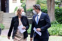 IPO , PK Xavier Bettel und Paulette Lenert ,Corona , Covid-19 , Foto:Guy Jallay/Luxemburger Wort